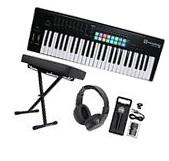 Novation LAUNCHKEY-49-MK2 49-Key Keyboard Controller+Bench+