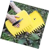 Leaf Grabber Rakes Leaves Scoop Durable Tool Claws Outdoor