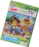 LEAPFROG LEAPTV DISNEY JAKE AND THE NEVERLAND PIRATES ACTIVE