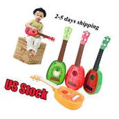 Children Learn Guitar Ukulele Mini Fruit Can Play Musical