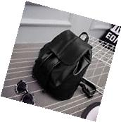 Fashion Women Leather Backpack Rucksack Travel School Bag