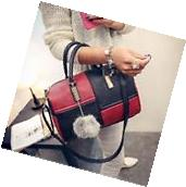Women Leather Handbag Shoulder Ladies Purse Hobo Satchel