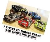 *LED LIGHTS* Traxxas Slash Revo Summit Body 1/10 4x4 Red