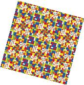 LEGO BUILDING BLOCKS ROLL OF GIFT WRAP ~ Birthday Party