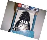 LEGO Star Wars Darth Vader Alarm Clock Black 2010 New