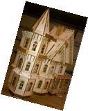 Leon Gothic Victorian Mansion Dollhouse Half inch / 1:24