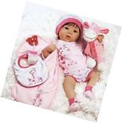 Lifelike Realistic Baby Doll Girl Reborn Infant 10 Piece