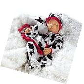 Lifelike Realistic Newborn Weighted Baby Girl Doll Over the