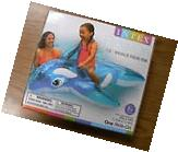 INTEX LIL' WHALE INFLATABLE KIDS SWIMMING POOL RIDE ON RAFT