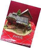 "Lilliput Lane Coca Cola Country "" Country Fresh Pickens """