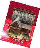 Lilliput Lane Coca Cola Hook, Line, and Sinker Figure with