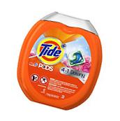 Tide Liquid Detergent PODS Plus Downy HE Turbo Laundry