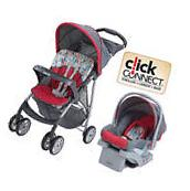 NEW Graco LiteRider Travel System Baby Stroller and Car Seat