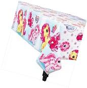 MY LITTLE PONY PLASTIC TABLE COVER ~ Birthday Party Supplies