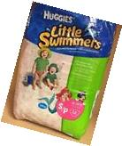 HUGGIES  LITTLE SWIMMERS Swimming Diapers Size S 12 Count