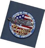 LOCKHEED P-3 ORION US NAVY Patrol Squadron Jacket Patch VP-