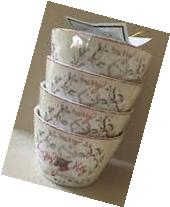 222 Fifth Lodge Appetizer Dipping Bowl Set of 4