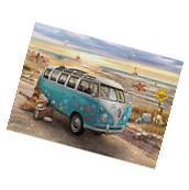 NEW Eurographics Love And Hope Volkswagen VW Hippie Bus 1000