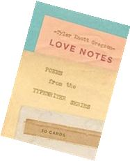 Love Notes: 30 Cards