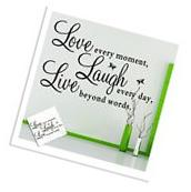Love Art Quote Wall Sticker Decal Removable Mural Home