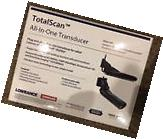 Lowrance TotalScan Transom Mount Mid/Hi 455/800 Transducer