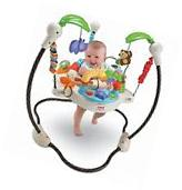 Fisher-Price Luv U Zoo Jumperoo Bouncer Activity Jumper