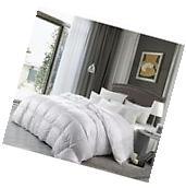Luxury Goose Down Comforter Cal King Size 1200 TC