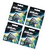 Gillette Mach3 Mach 3 Refill Razor Blades Pack of 32