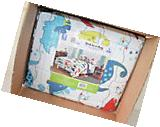Machine Washable Mainstays Kids Dino Roar Bed in a Bag