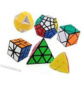 Magic Speed Cube Puzzle Boxes Brain Teasers Toys ABS