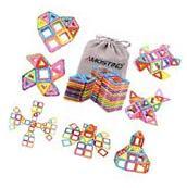 Magnetic Blocks Building Set for Kids, Magnetic Tiles