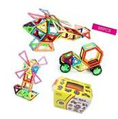 Magnetic Building Blocks 98 Pieces Set Kids Magnet