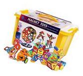 Maggift 30 Pcs Magnetic building blocks Tiles Magnetic