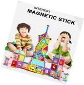 103pcs Magnetic Sticks Building Blocks Puzzles Construction