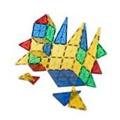 Jolly Mags Magnetic Tiles Set - 3D Building Blocks Toy with