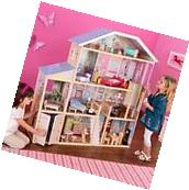 New KidKraft Majestic Mansion Doll House Large Furniture