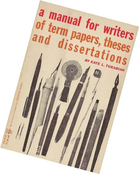 term paper vs research paper A Manual For Writers of Term Papers  Theses and Dissertations Kate L  Turabian University