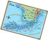 Map of the Florida Keys United States America Travel