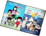 2 1984 MARTHA ORIGINALs SONSHINE DOLL Making Kit Pattern