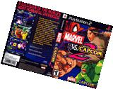 Marvel Vs. Capcom 2 CUSTOM PS2 CASE
