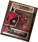 Marvel Collector Corps Exclusive Leaping Deadpool Funko Pop