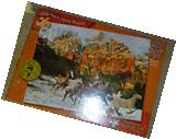 Master Pieces 1000 piece jigsaw puzzle Running the Sacred