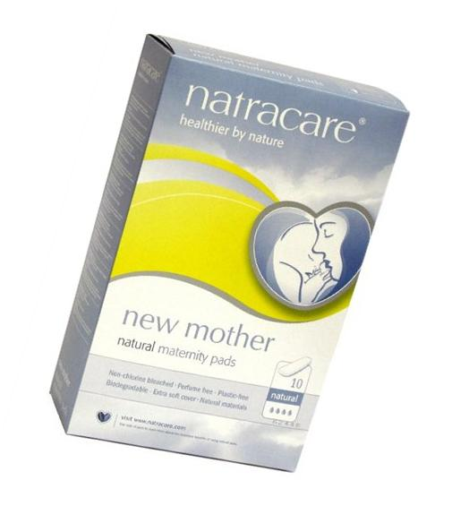 NATRACARE MATERNITY PADS, 10 CT