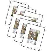 Mainstays 8x10 matted to 5x7 Format Picture Frame, Set of 6