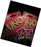 MATTEL GAMES UNO CARD GAME 112 CARD NEW PACKS WITH 4