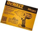 "Dewalt 20 Volt Max Cordless Lithium-Ion 1/2"" High Torque"