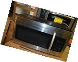 "Samsung ME16K3000A 30"" Stainless Over-The-Range Microwave"