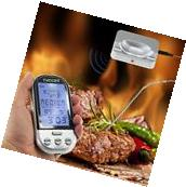 Digital Meat Thermometer Wireless Remote Cooking Smoker