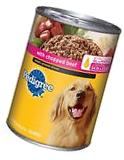 12 PACK PEDIGREE Meaty Ground Dinner Adult Wet Canned Dog