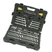 Stanley 145 Piece Mechanics Tool Set Auto Garage Sockets